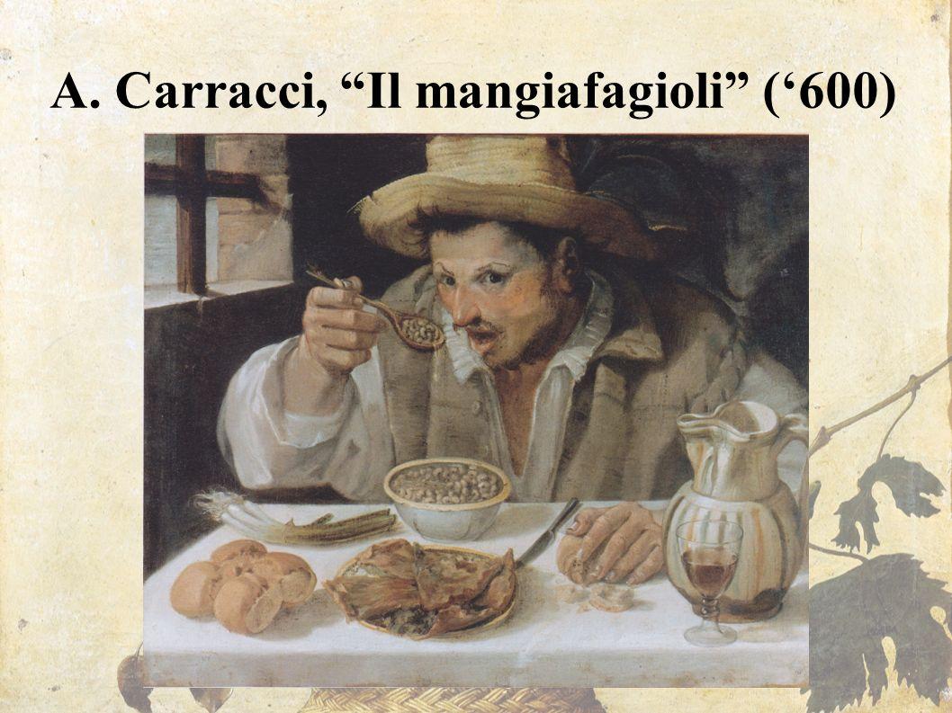 A. Carracci, Il mangiafagioli ('600)