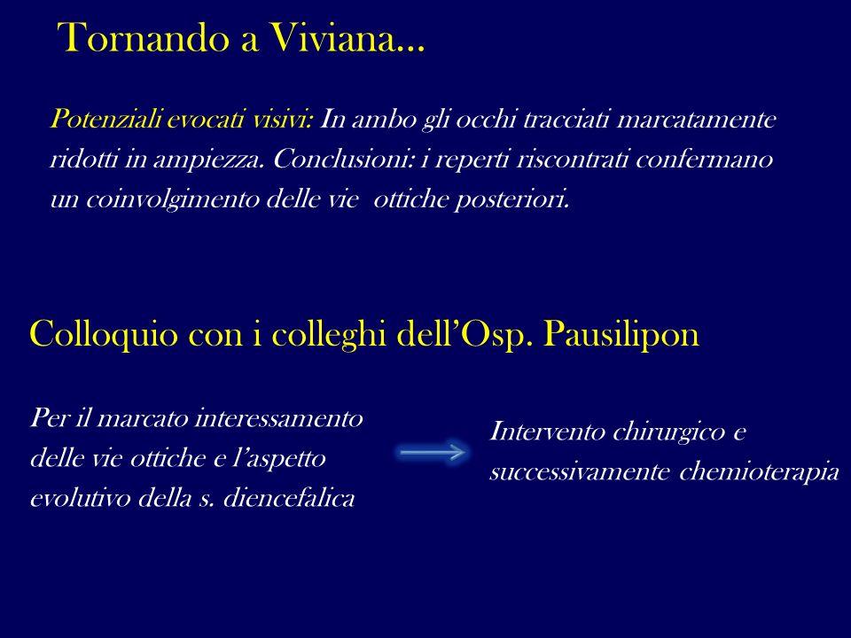 Tornando a Viviana… Colloquio con i colleghi dell'Osp. Pausilipon