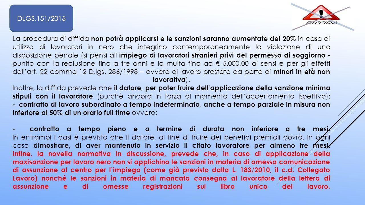 DLGS.151/2015