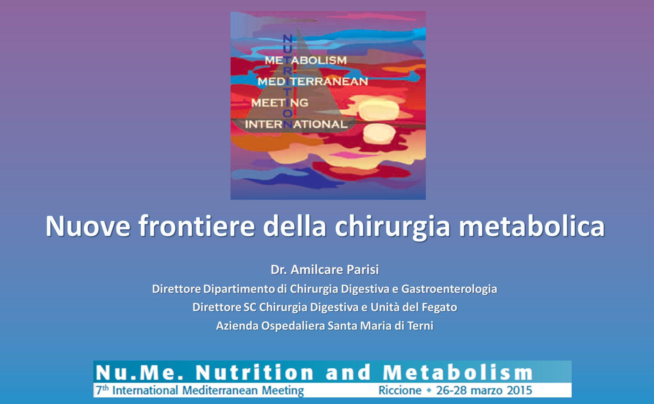 Nuove frontiere della chirurgia metabolica