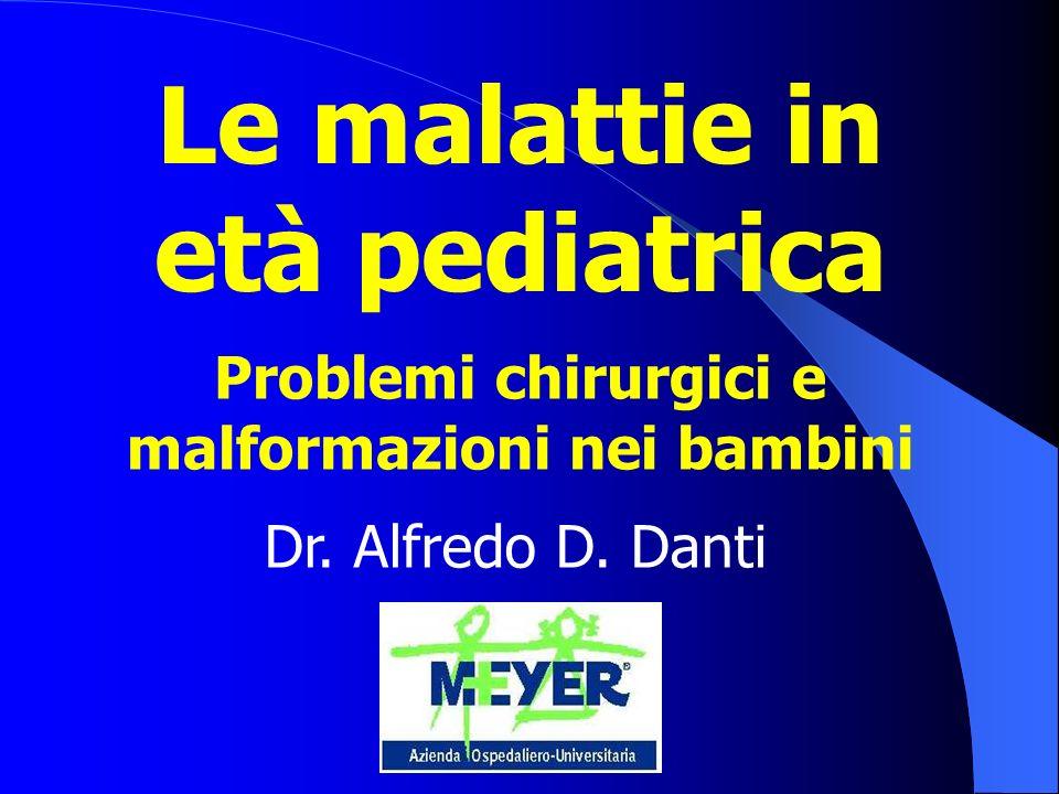 malformazioni nei bambini