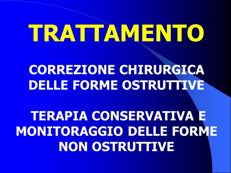 TRATTAMENTO CORREZIONE CHIRURGICA DELLE FORME OSTRUTTIVE