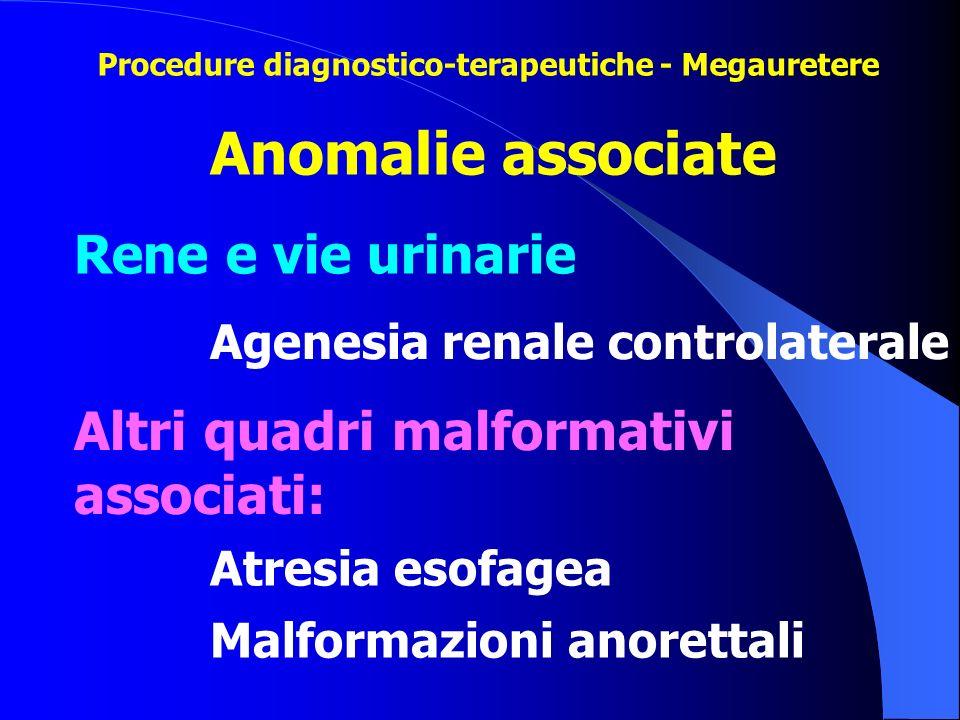 Anomalie associate Rene e vie urinarie