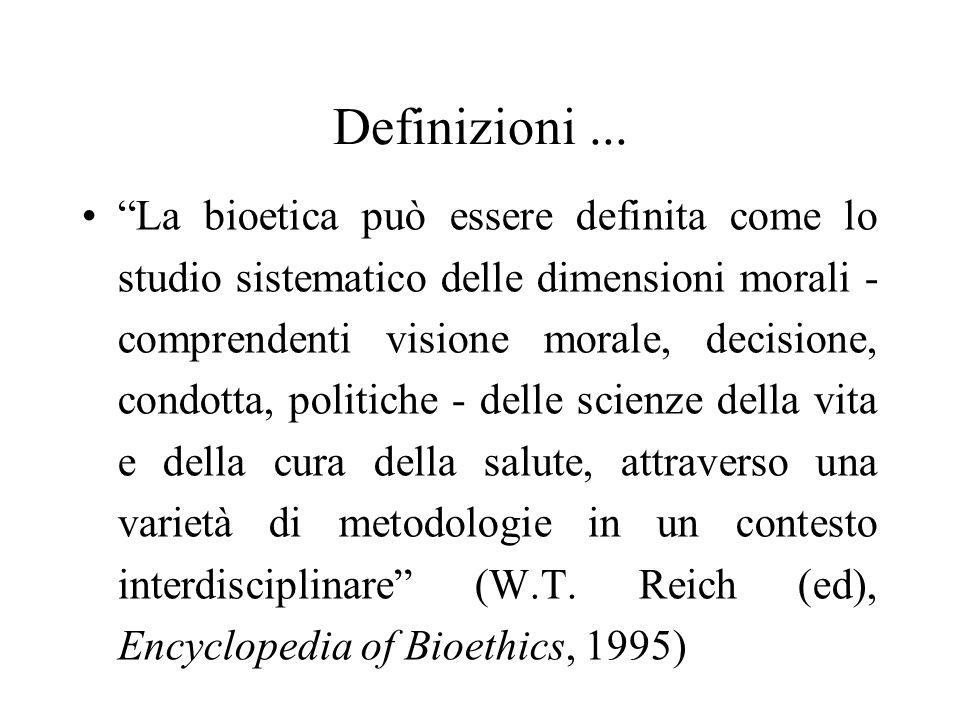 Definizioni ...
