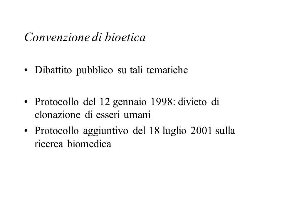 Convenzione di bioetica