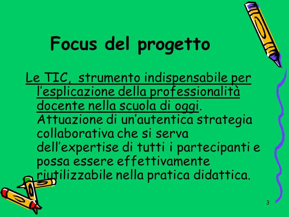 Focus del progetto