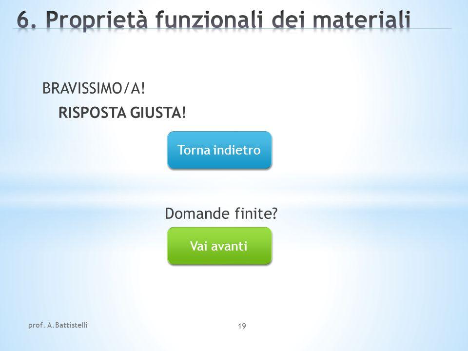 6. Proprietà funzionali dei materiali