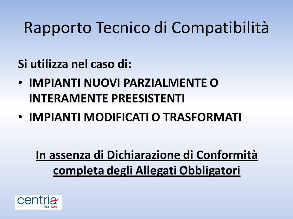 Rapporto Tecnico di Compatibilità