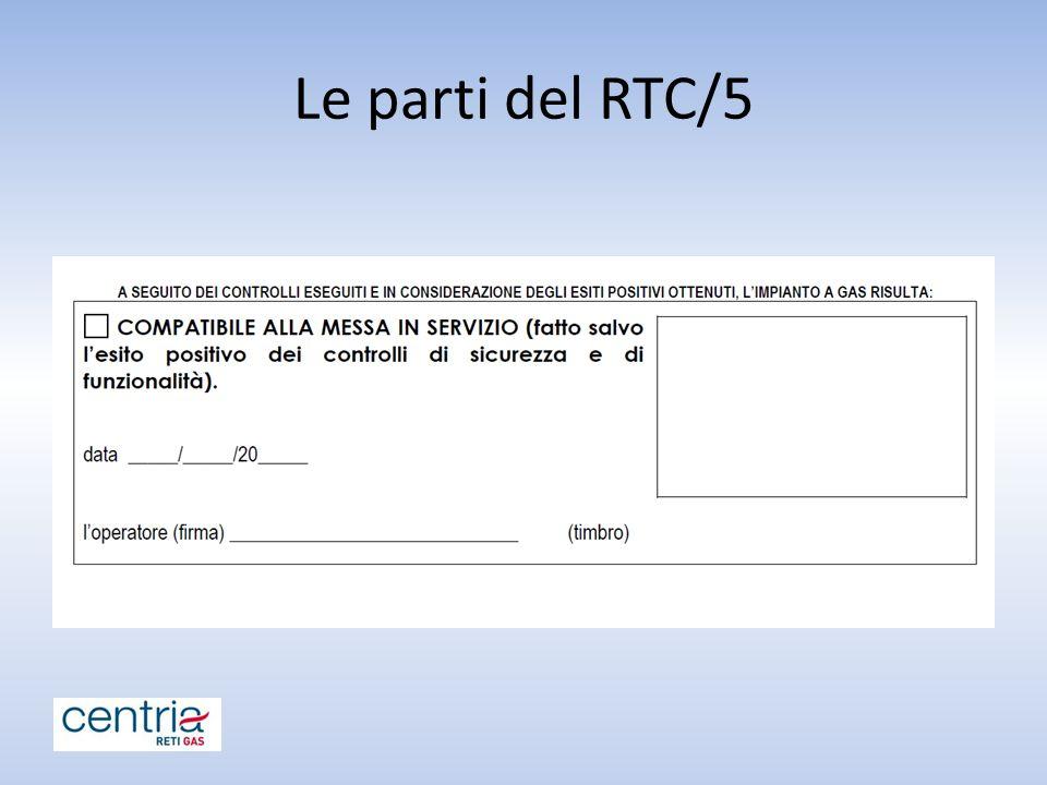 Le parti del RTC/5