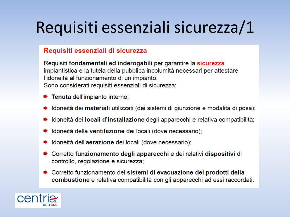 Requisiti essenziali sicurezza/1