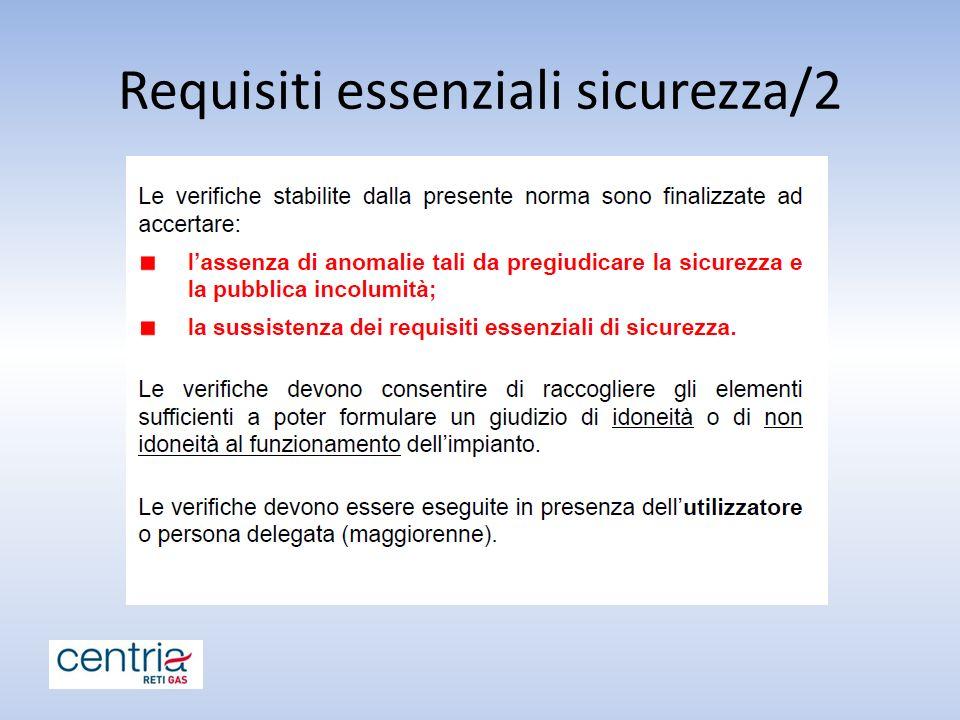 Requisiti essenziali sicurezza/2