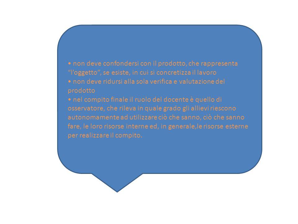 • non deve confondersi con il prodotto, che rappresenta l'oggetto , se esiste, in cui si concretizza il lavoro
