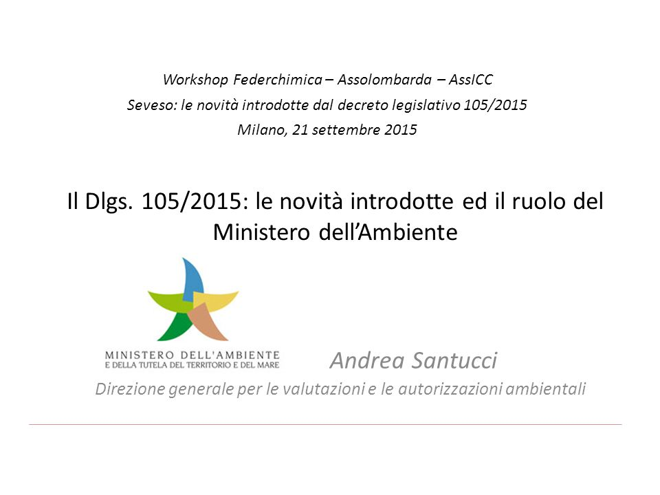 Workshop Federchimica – Assolombarda – AssICC