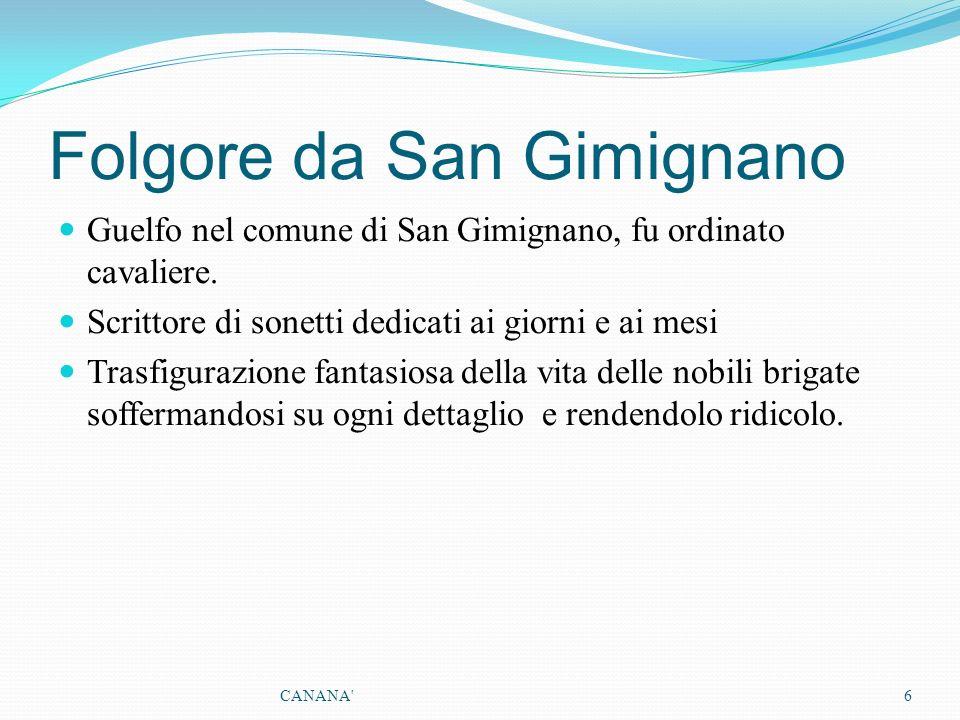 Folgore da San Gimignano
