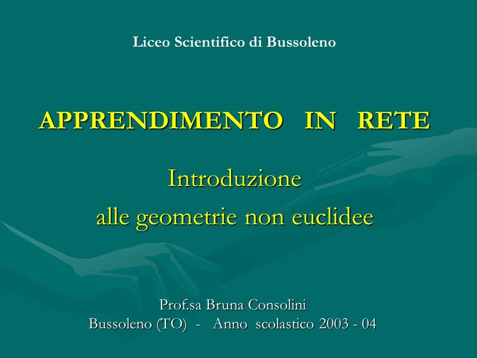 Introduzione alle geometrie non euclidee