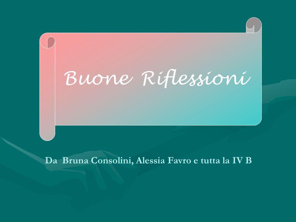 Da Bruna Consolini, Alessia Favro e tutta la IV B