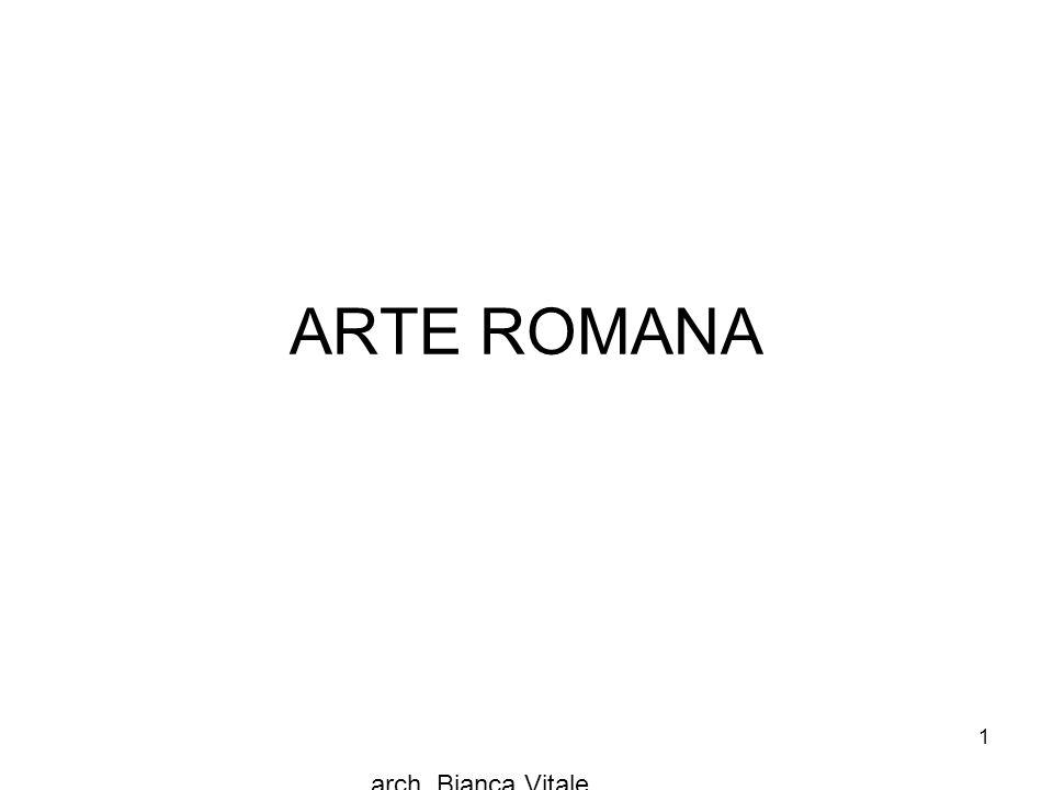 ARTE ROMANA arch. Bianca Vitale