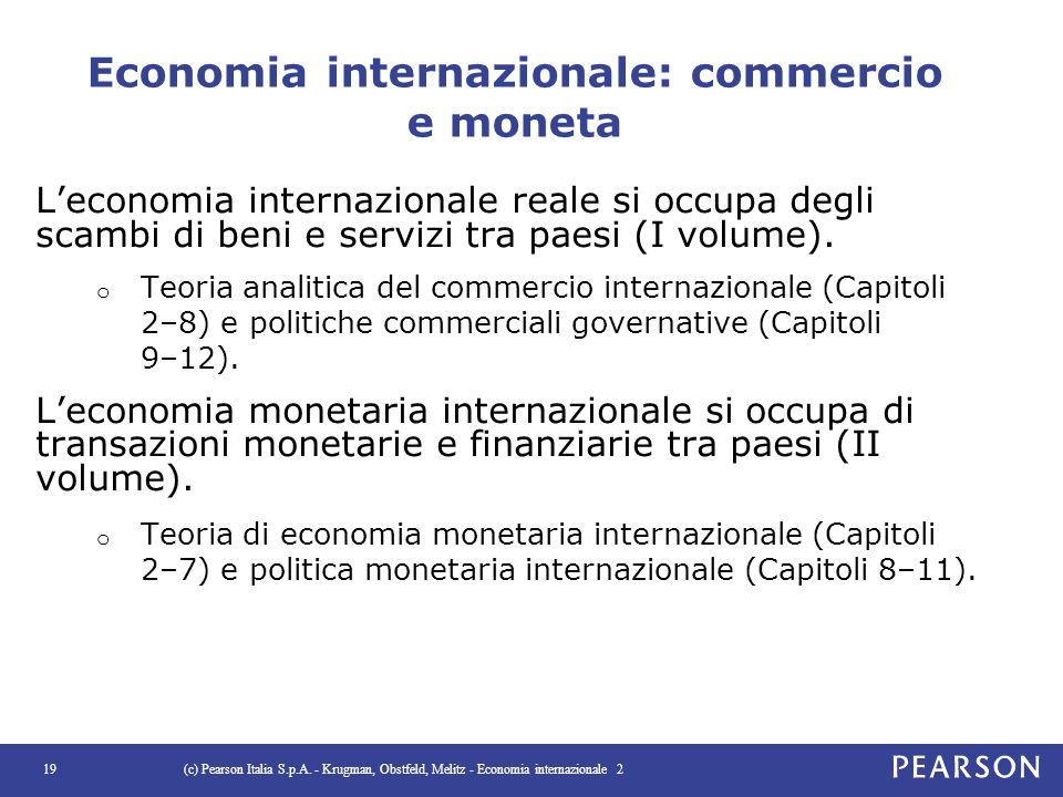 Economia internazionale: commercio e moneta