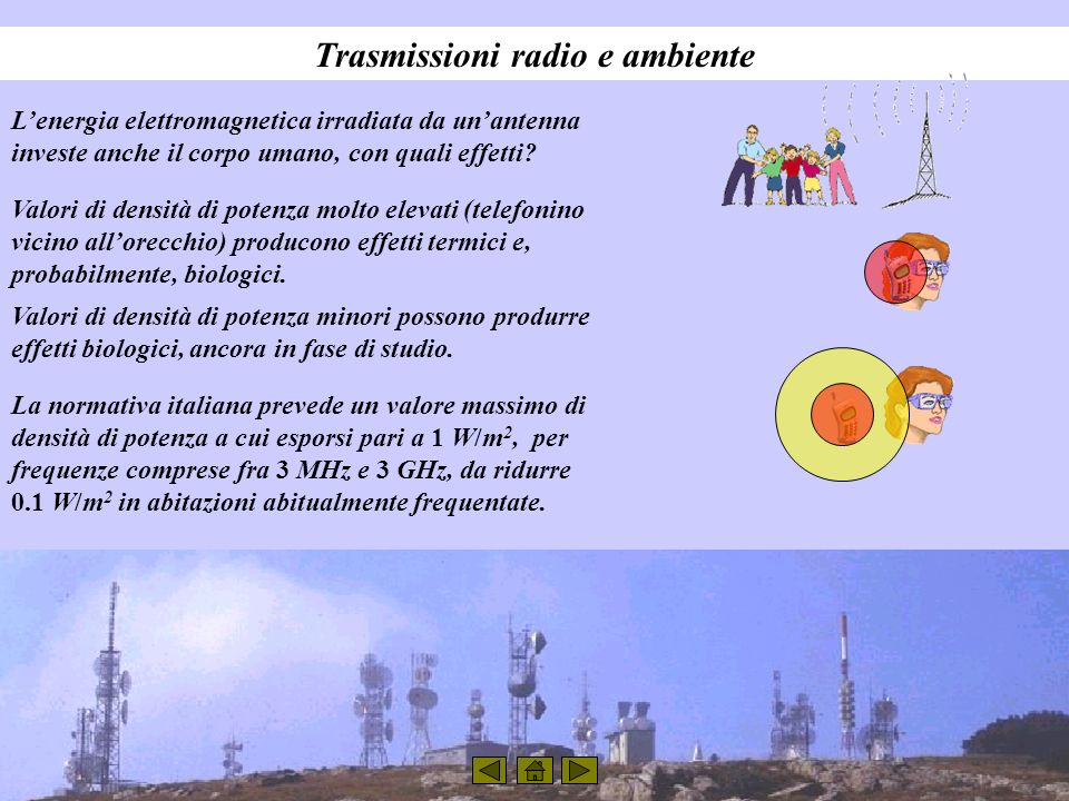 Trasmissioni radio e ambiente