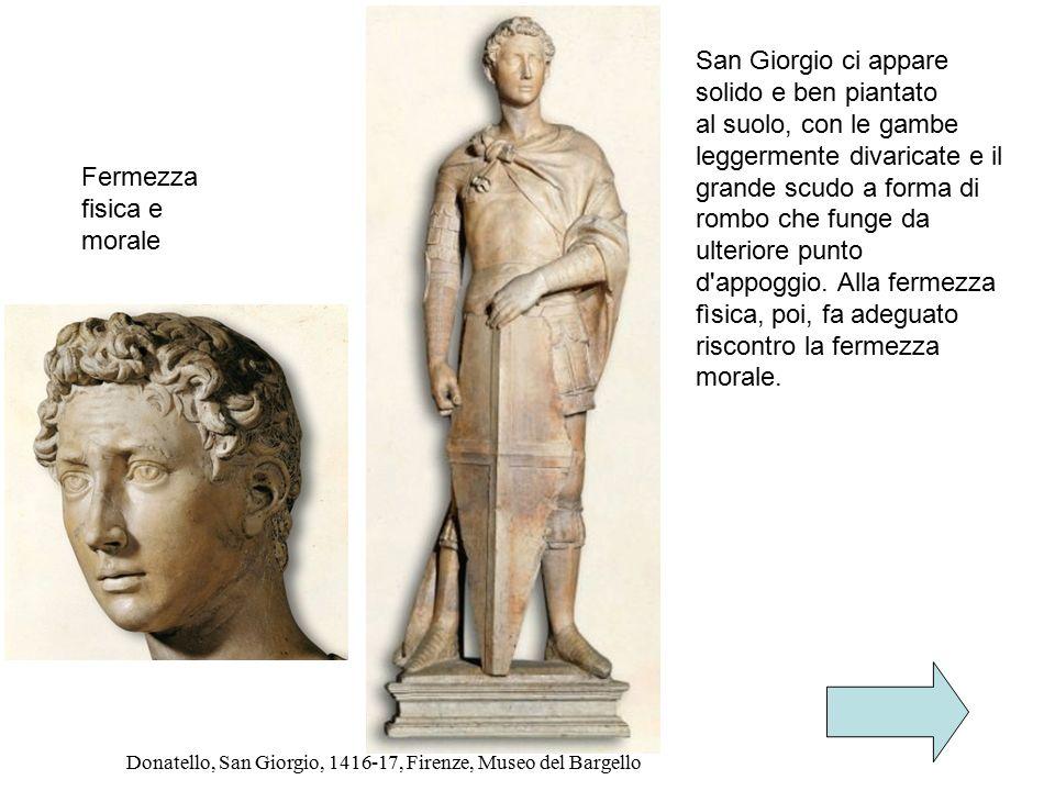Donatello, San Giorgio, 1416-17, Firenze, Museo del Bargello