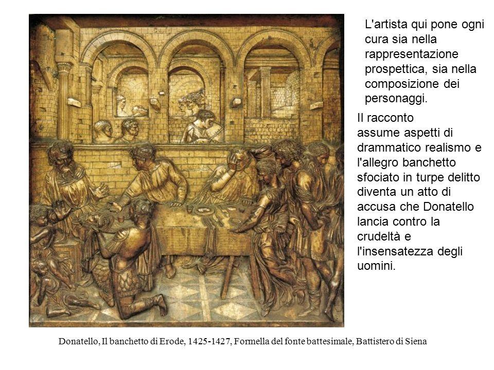 L artista qui pone ogni cura sia nella rappresentazione prospettica, sia nella composizione dei personaggi.