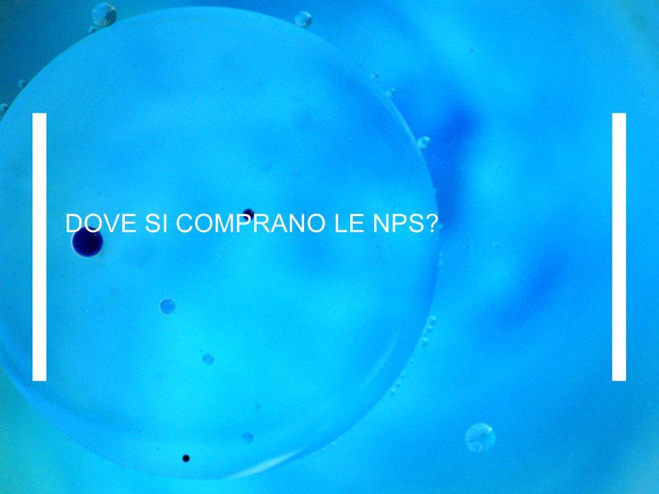 DOVE SI COMPRANO LE NPS