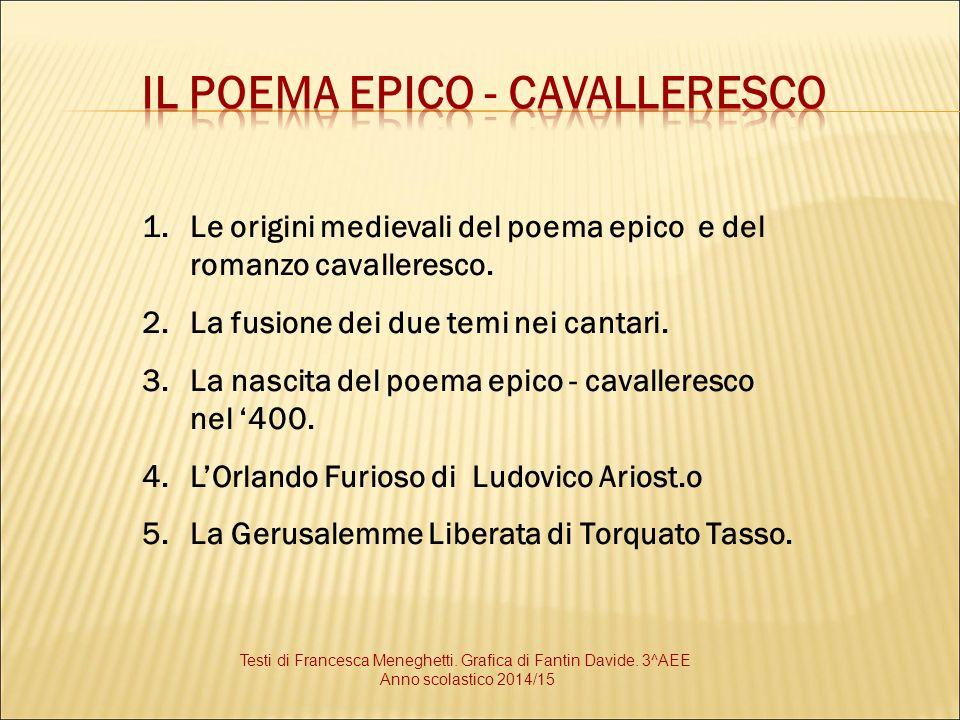 Il poema epico - cavalleresco