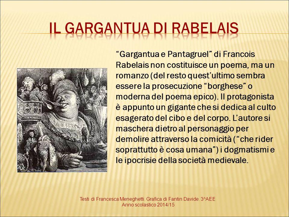 Il Gargantua di Rabelais