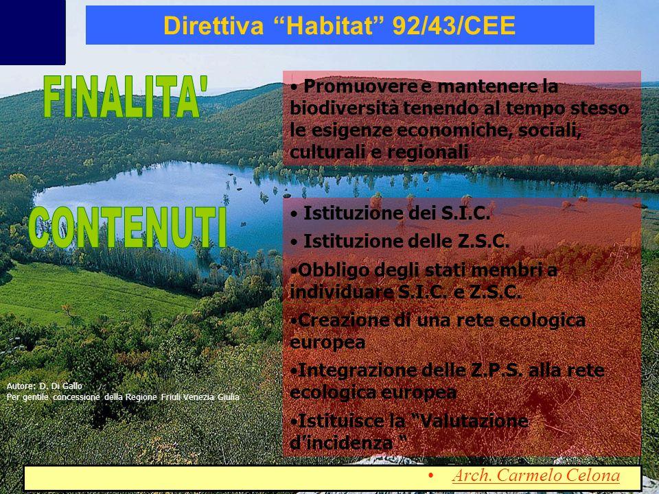 Direttiva Habitat 92/43/CEE