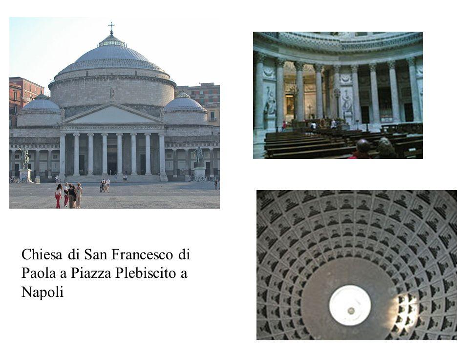 Chiesa di San Francesco di Paola a Piazza Plebiscito a Napoli