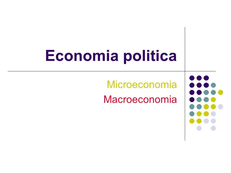 Microeconomia Macroeconomia