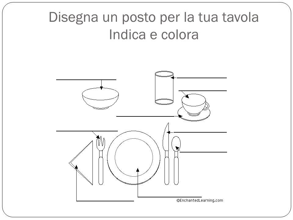 Apparecchiamo la tavola chi apparecchia la tavola a casa tua ppt scaricare - Disegna la tua cucina ...