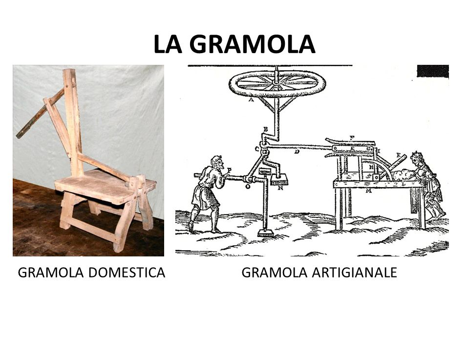LA GRAMOLA GRAMOLA DOMESTICA GRAMOLA ARTIGIANALE