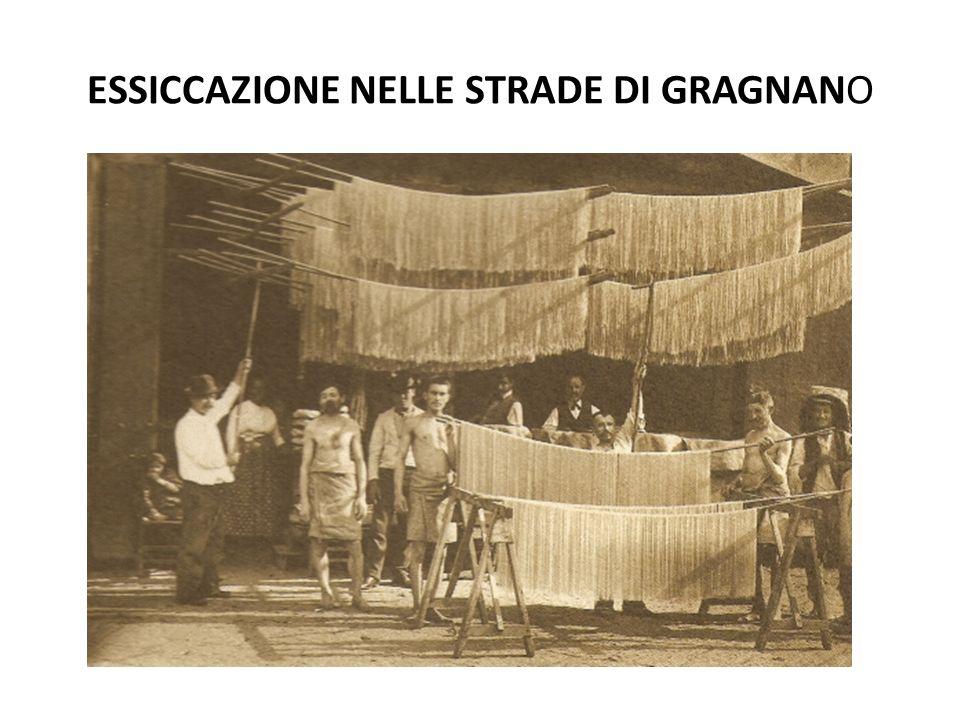 ESSICCAZIONE NELLE STRADE DI GRAGNANO
