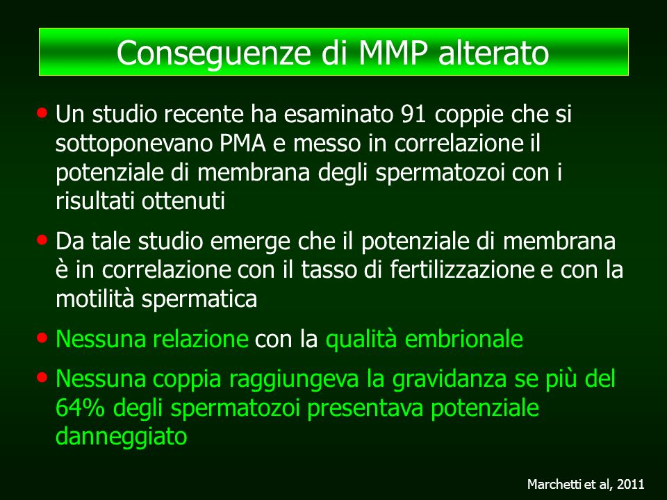 Conseguenze di MMP alterato