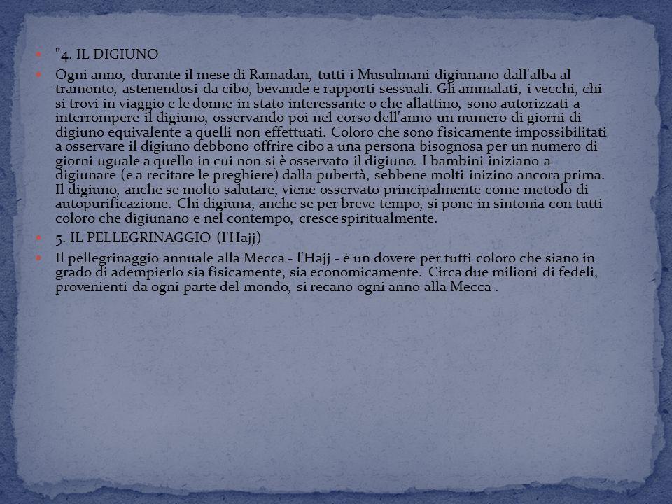 4. IL DIGIUNO