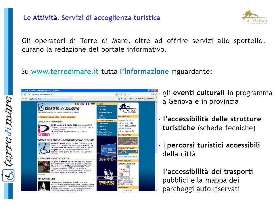 Su www.terredimare.it tutta l'informazione riguardante: