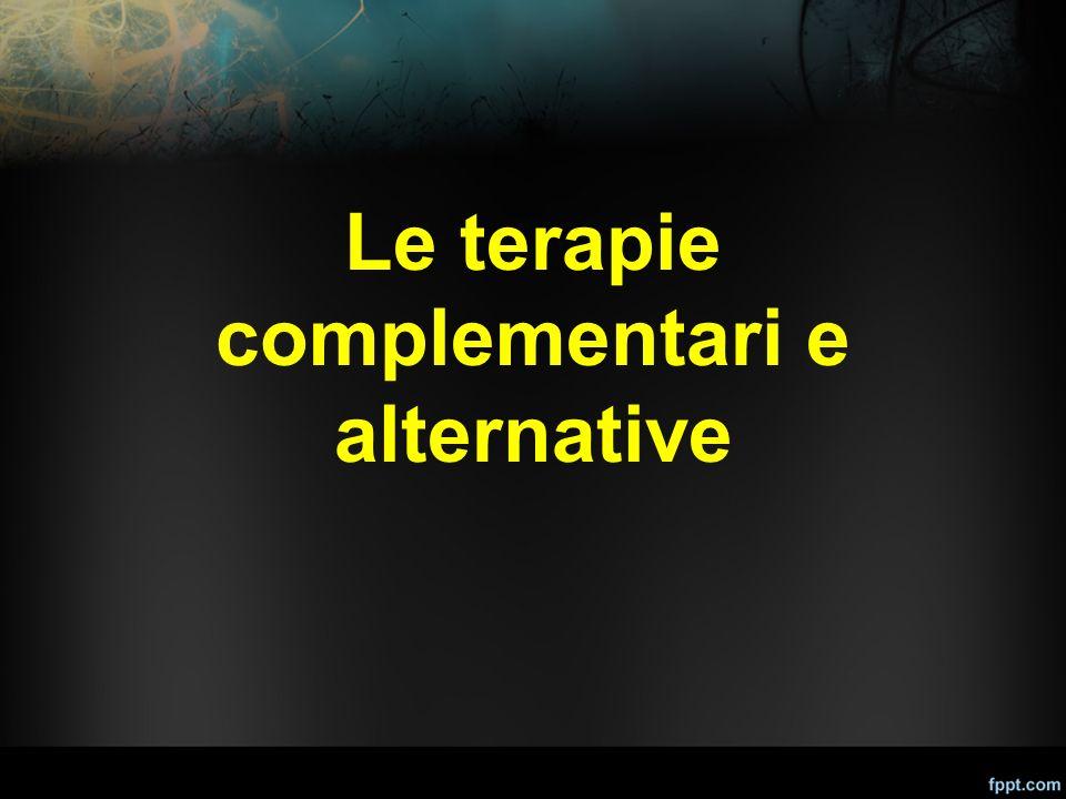 Le terapie complementari e alternative