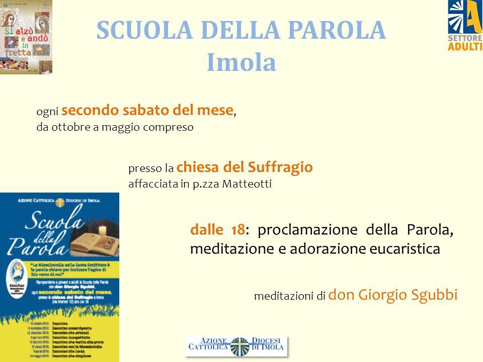 SCUOLA DELLA PAROLA Imola