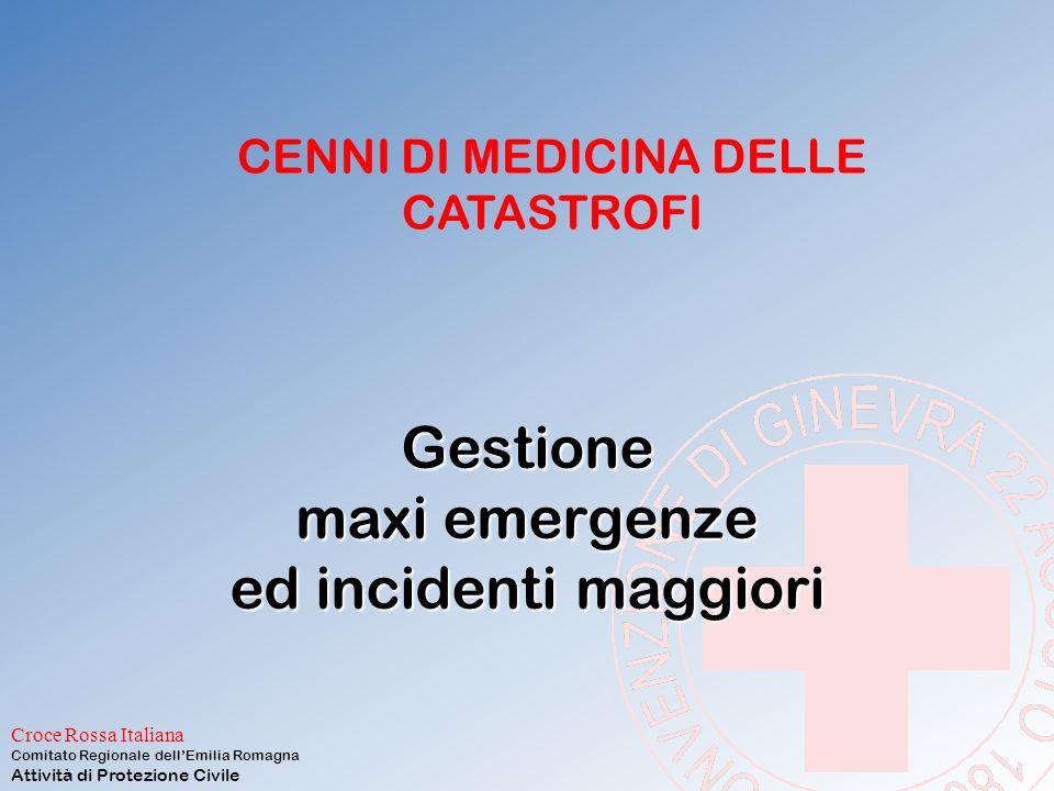 Gestione maxi emergenze ed incidenti maggiori
