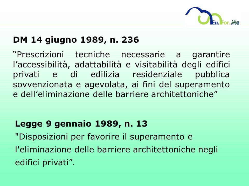 DM 14 giugno 1989, n. 236