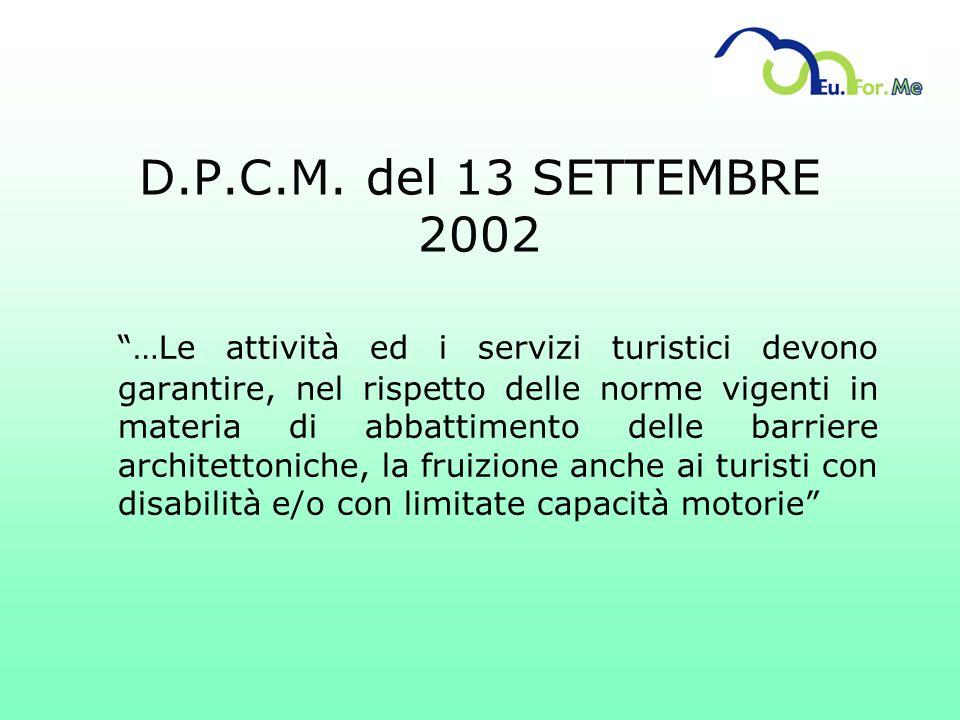 D.P.C.M. del 13 SETTEMBRE 2002