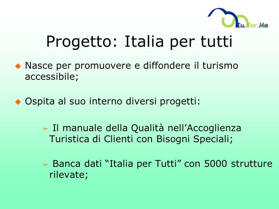 Progetto: Italia per tutti