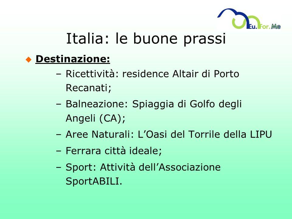 Italia: le buone prassi