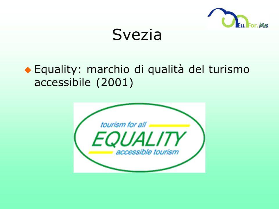 Svezia Equality: marchio di qualità del turismo accessibile (2001)