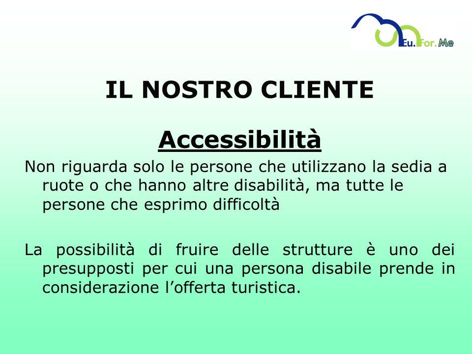 IL NOSTRO CLIENTE Accessibilità