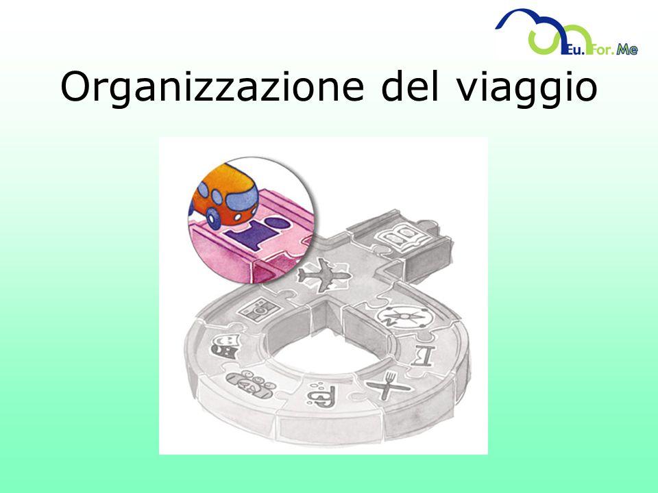 Organizzazione del viaggio