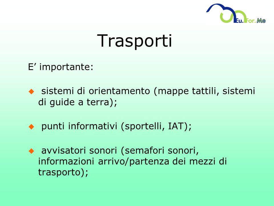 Trasporti E' importante: