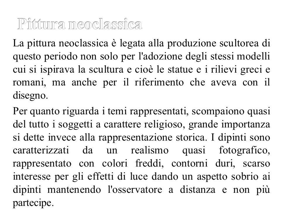 Pittura neoclassica