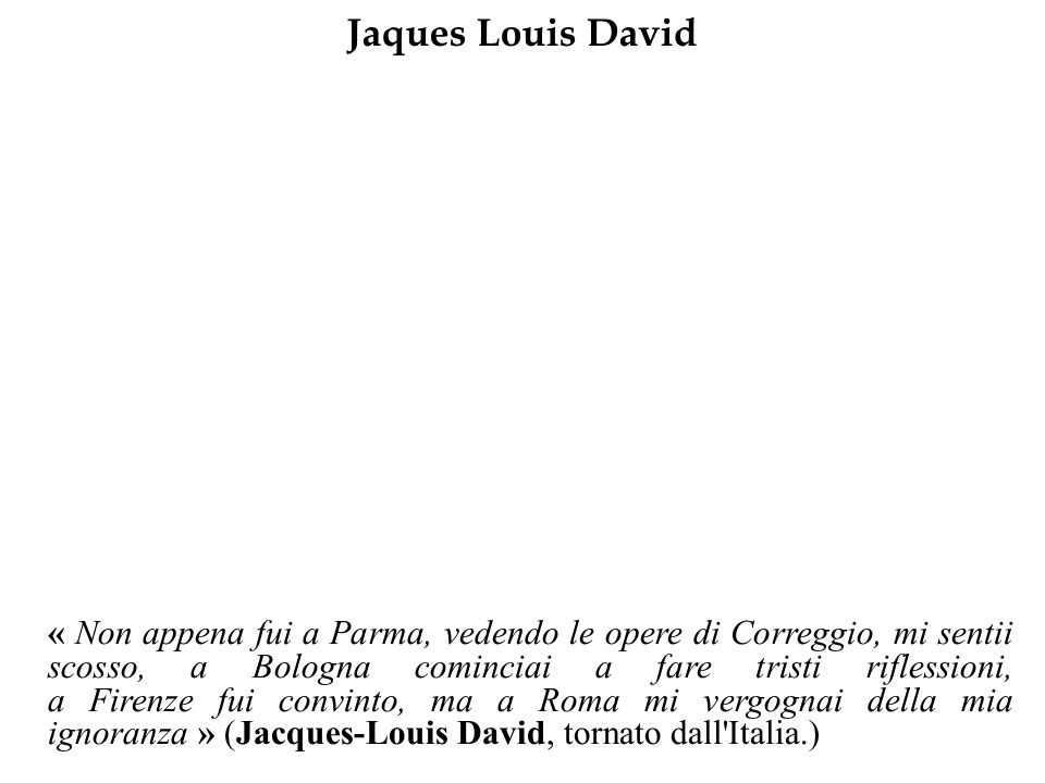 Jaques Louis David